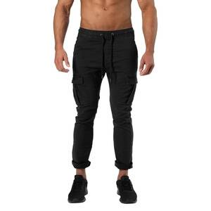 Better Bodies Harlem Cargo Pants, wash black, large