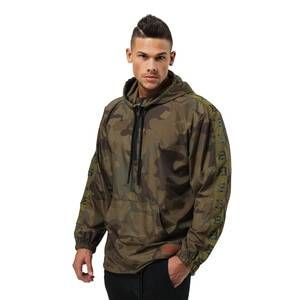 Better Bodies Harlem Jacket, military camo, large