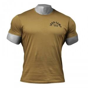 Gasp Throwback Tee, military olive, large