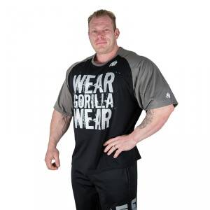 Gorilla Wear Men Colorado Oversized Tee, svart/gr�, Gorilla Wear