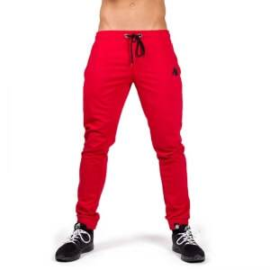 Gorilla Wear Men Classic Joggers, red, small