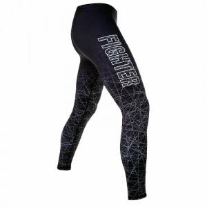 Fighter Cantil Compression Tights, svart/gr�, small