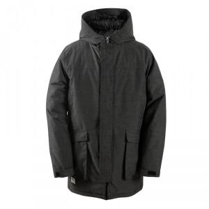 2117 of Sweden Arild Padded Parka, black, 2117