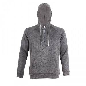 2117 of Sweden Ljungby Wave Fleece Hood, dark grey, 2117