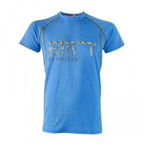 2117 of Sweden Varg�n Running Top, blue melange, medium