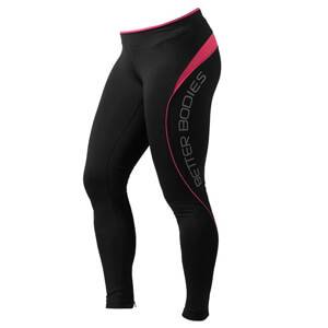 Better Bodies Fitness Long Tights, hot pink, large