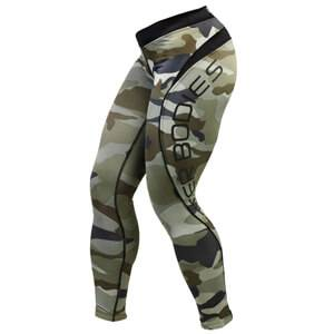 Better Bodies Camo Long Tights, camoprint, large