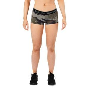 Better Bodies Fitness Hotpant, green camoprint, large