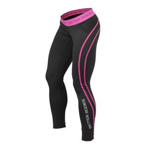 Better Bodies Athlete Tights, black/pink, small