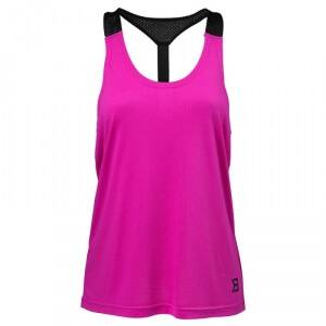 Better Bodies Loose Fit Tank, strong pink, large
