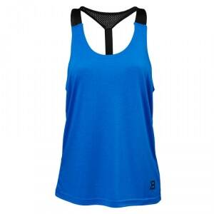 Better Bodies Loose Fit Tank, strong blue, small