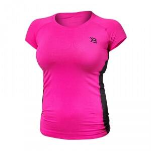 Better Bodies Performance Soft Tee, hot pink, large