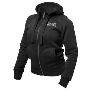 Better Bodies BB Soft Hoodie, black, small