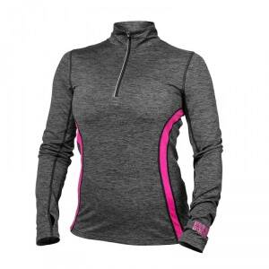 Better Bodies Performance Mid L/S, graphite pink, Better Bodies