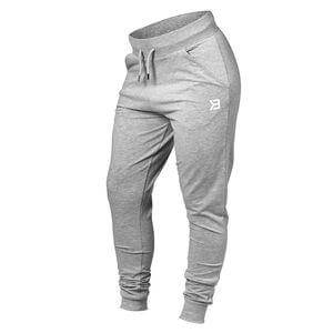 Better Bodies Soft Tapered Pants, grey melange, xsmall