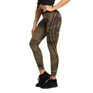 Better Bodies Camo High Tights, dark green camo, large