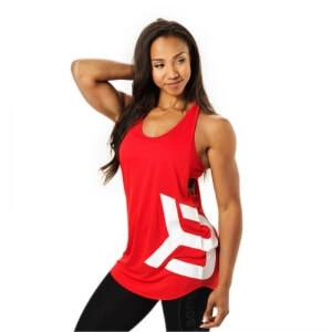 Better Bodies Chelsea T-Back, scarlet red, small