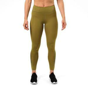 Better Bodies Madison Tights, military green, large