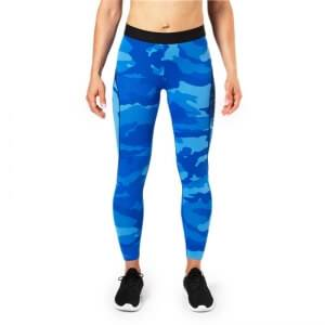 Better Bodies Fitness Curve Tights, blue camo, medium