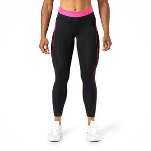 Better Bodies Fitness Curve Tights, black/pink, Better Bodies