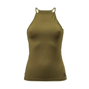 Better Bodies Performance Halter, military green, small
