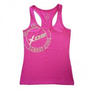 Daily Sports XDS Racerback, hot lips, xlarge