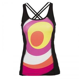 Daily Sports Move Tank, hot lips, large