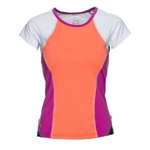 Daily Sports Cross Tee, hot lips, large