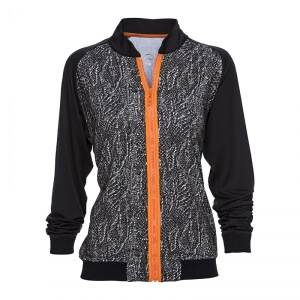 Daily Sports Snake Jacket, papaya, small