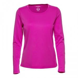 Daily Sports Base L/S Tee, knockout pink, large