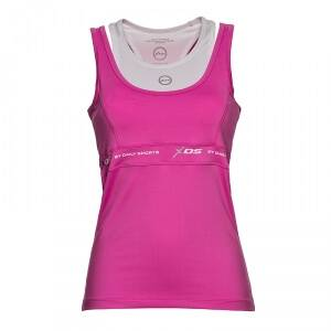Daily Sports Impact Tank, knockout pink, large