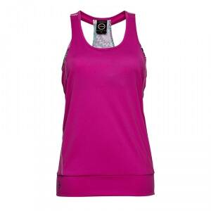 Daily Sports Free Long Tank, knockout pink, large