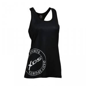 Daily Sports XDS Long Tank, black, Daily Sports