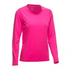 Daily Sports Base L/S Tee, strawberry, xsmall