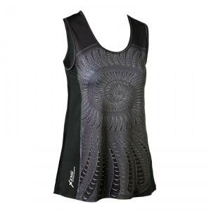 Daily Sports Shell Tank, black, small