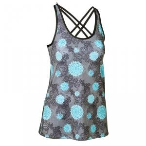 Daily Sports Mantra Tank, charcoal, small