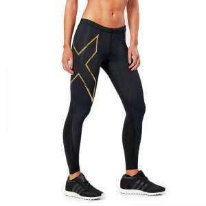 2XU Elite MCS Compression Tights, black/gold, large