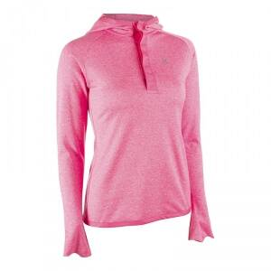 MXDC Ladies Workout LS Hood, pink, small