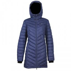 2117 of Sweden Istrum Womens Coat, navy melange, 2117