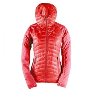 2117 of Sweden Skulltorp Sporty Hybrid Jacket, signal red, 42