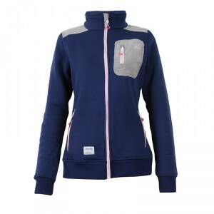 2117 of Sweden N�dinge Flatfleece Jacket, navy, 42