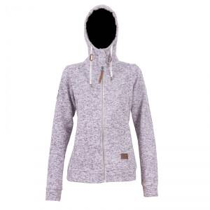 2117 of Sweden Grolanda Wave Fleece Jacket, dark lavender, 40