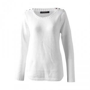 Marine Skagen Lady Sweater, offwhite, small