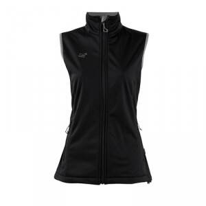 2117 of Sweden SkrattenSoftshell Vest, black, 38