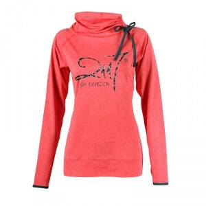 2117 of Sweden J�rn Bure� Long Sleeve Top, signal red melange, 38
