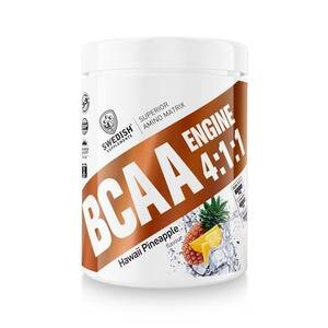 Swedish Supplements BCAA Engine 4:1:1, 400 g, Raspberry Boat Candy