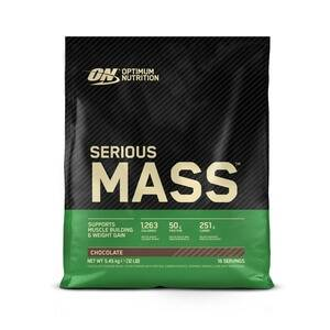 Optimum Nutrition Serious Mass, 5455 g, banana
