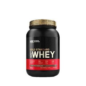 Optimum Nutrition 100% Whey, 908 g, cookies & cream