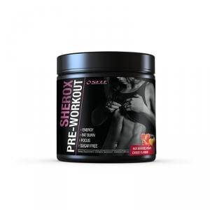 Self Omninutrition Sherox Pre-Workout, 250 g, Red Berries Peach