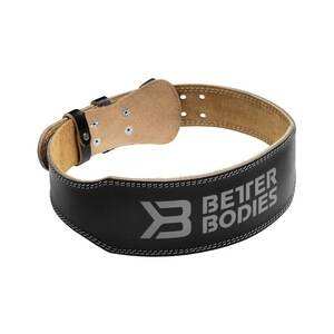Better Bodies Weight Lifting Belt, black, large